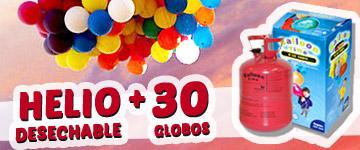 HELIO 30 globos