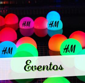 eventos globos led personalizados
