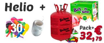 Pack globos de helio mini