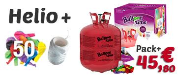 Pack globos de helio maxi