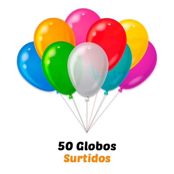 Helio para globos Desechable Botella grande + 50 globos de Regalo