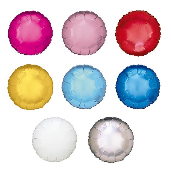 Globos de Helio Redondos de Colores Personalizados