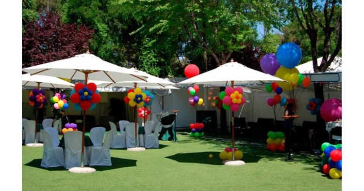 decoracion globos comunion madrid