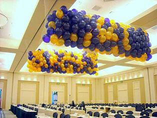 caida de globos eventos
