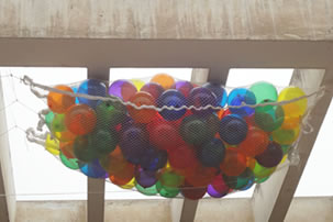 Decora con globos, Caída de globos para eventos
