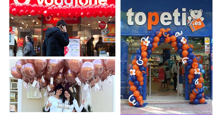 Sobresal por encima de tus competidores con globos personalizados