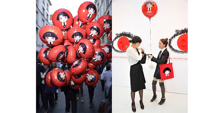 Ideas para Llamar la atención con globos de helio