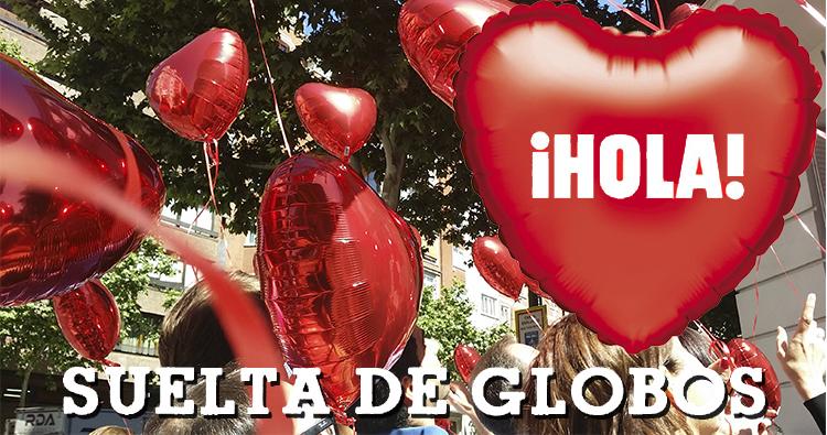 eventos con globos de helio