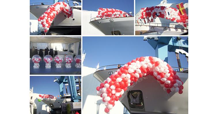 eventos originales con globos de helio