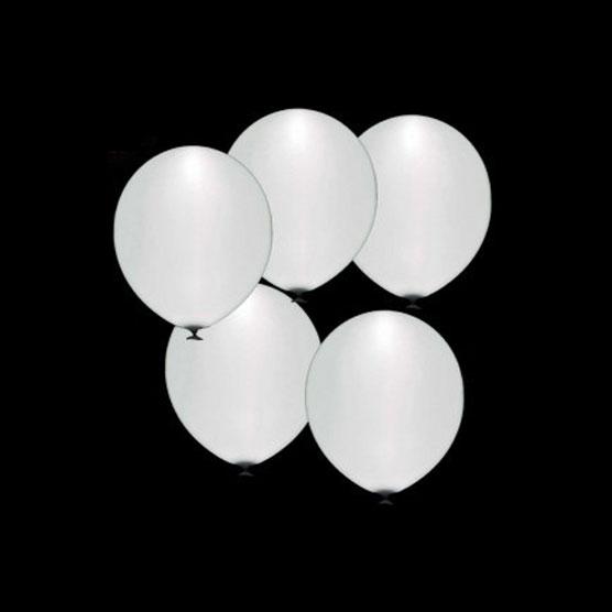 globos led blancos