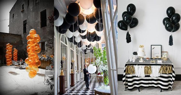 decora tus eventos con globos de helio