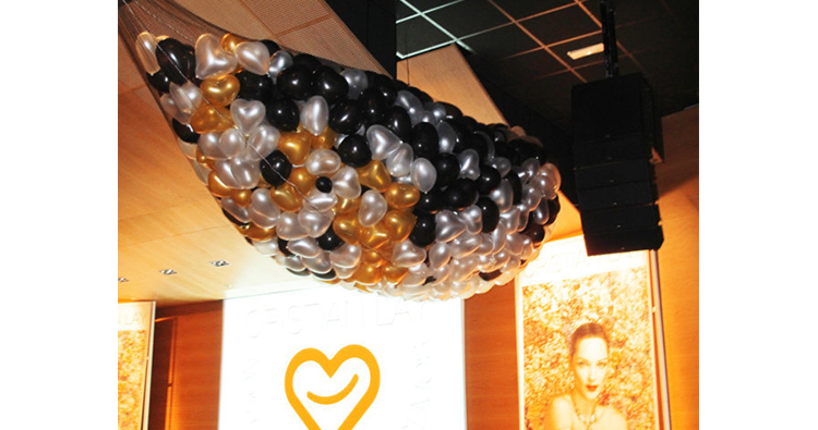 globos de helio corazon para animar y decorar tu evento