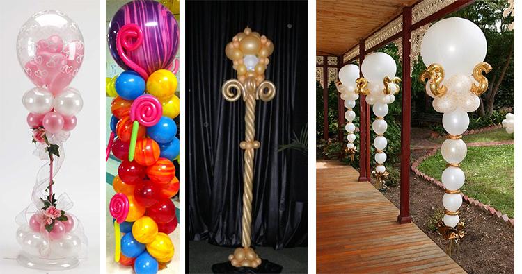 Decoración con globos celebraciones