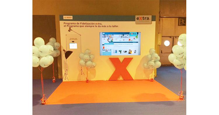 presentacion productos y servicios con globos