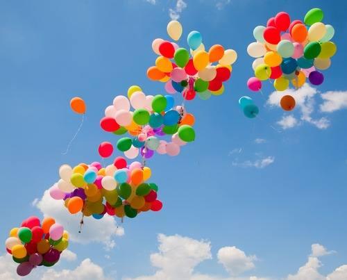 suelta de globos eventos