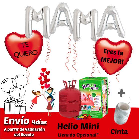 Globos Dia de la Madre con Globos de Helio Personalizados