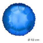 Globos Redondo Azul de Helio 42 cm