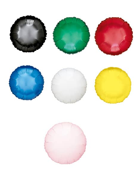 Colores de Globos de Poliamida Redondo 42cm