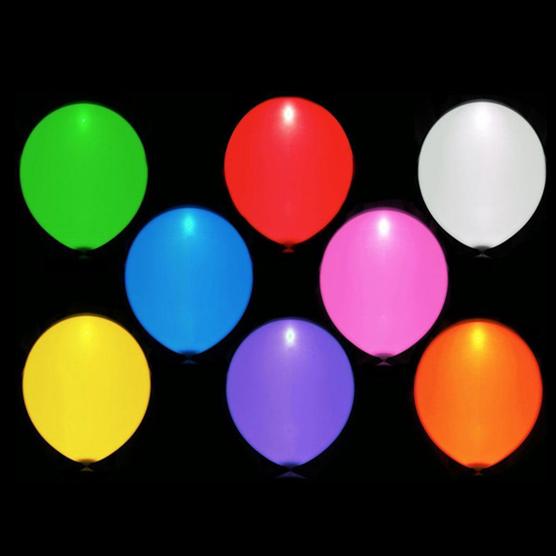 Gama de colores de globos LED