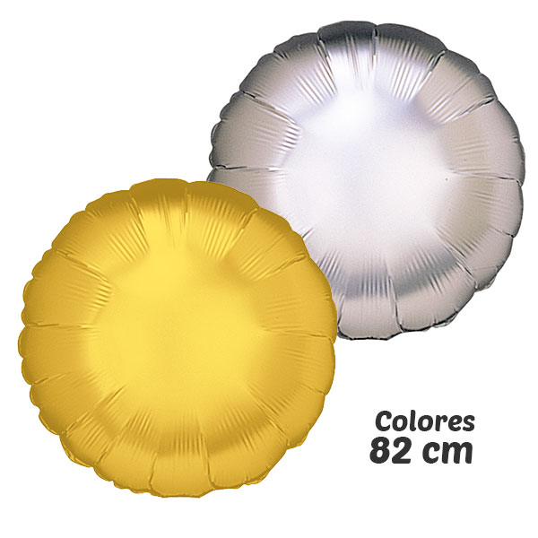 COLORES DE GLOBOS DE HELIO DE COLORES 82 CM