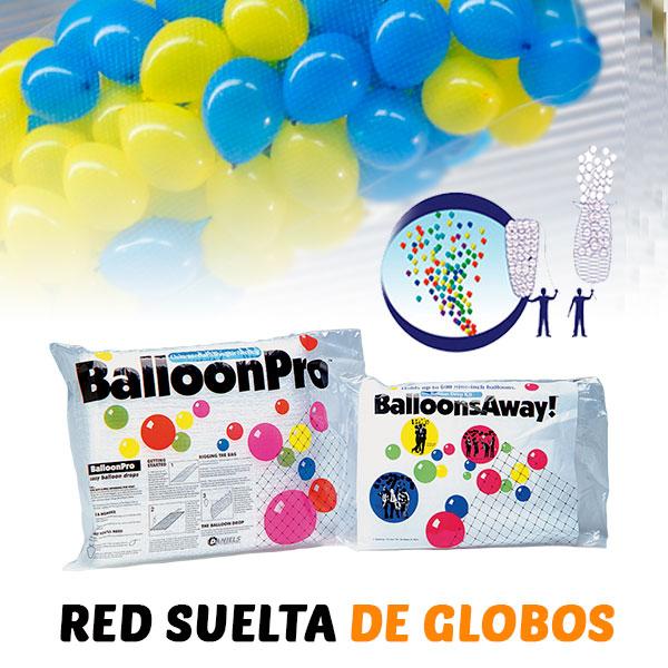 Red Suelta y Caida de Globos