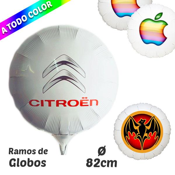 Globos Redondos Impresos A Todo Color 82 cm