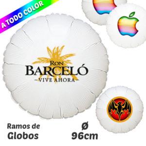 Globos Redondos Impresos A Todo Color 96 cm