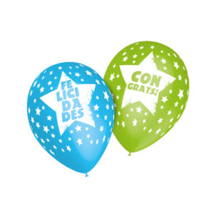 globos diseño felicidades