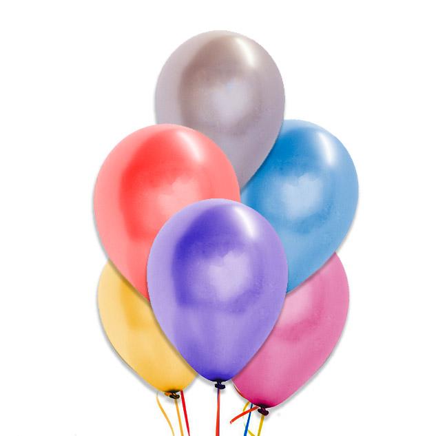 globos metalizados 28 cm