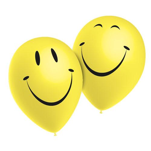 globos smiley sonrisa