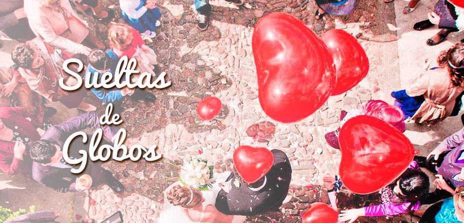suelta de globos bodas y comunión