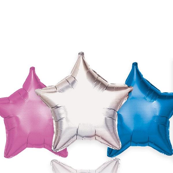 Globos Estrella Poliamida Liso