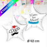 Globos de Helio Estrella Personalizado A Todo Color 42 cm