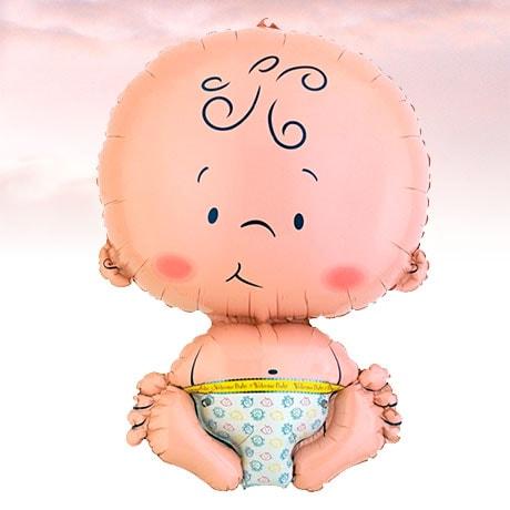 Globo de Helio Bebe Recién Nacido
