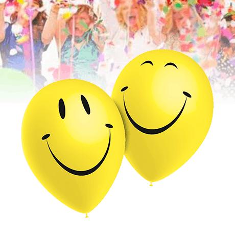 10 Globos Sonrisa Smiley