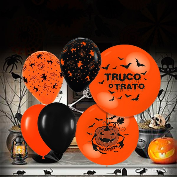 Halloween Globos Temáticos