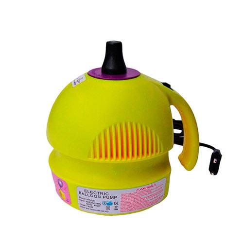 Inflador Eléctrico Globos Mini Amarillo