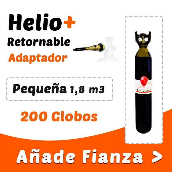 Botellas de Helio Retornable Pequeña
