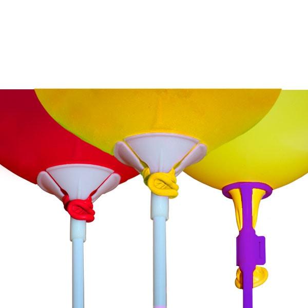 varillas-globos inflado aire