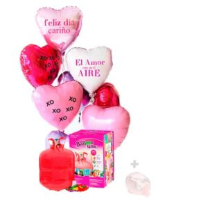 Globos Helio Poliamida Corazón Helio Maxi