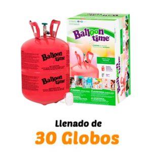 botella de helio mini