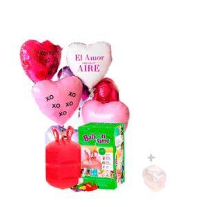 12 Globos de Poliamida Corazon + Cinta