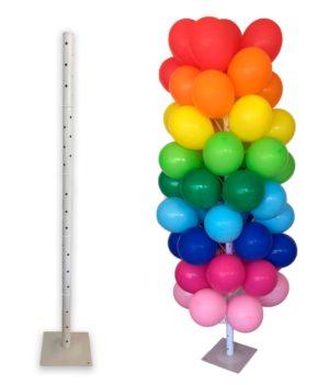 arbol-globos-base-metal