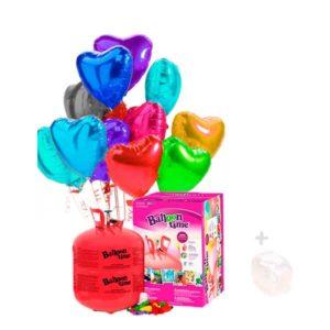 Pack sin Personalizar 22 Globos Corazón Poliamida