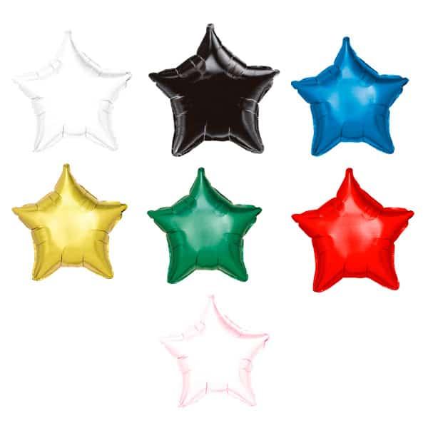 Colores de Globos Estrella 42cm
