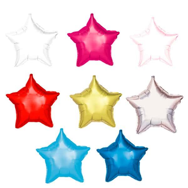 Colores de Globos Poliamida Estrella