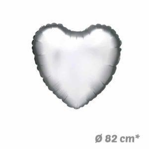 Globos Corazon Poliamida 82 cm